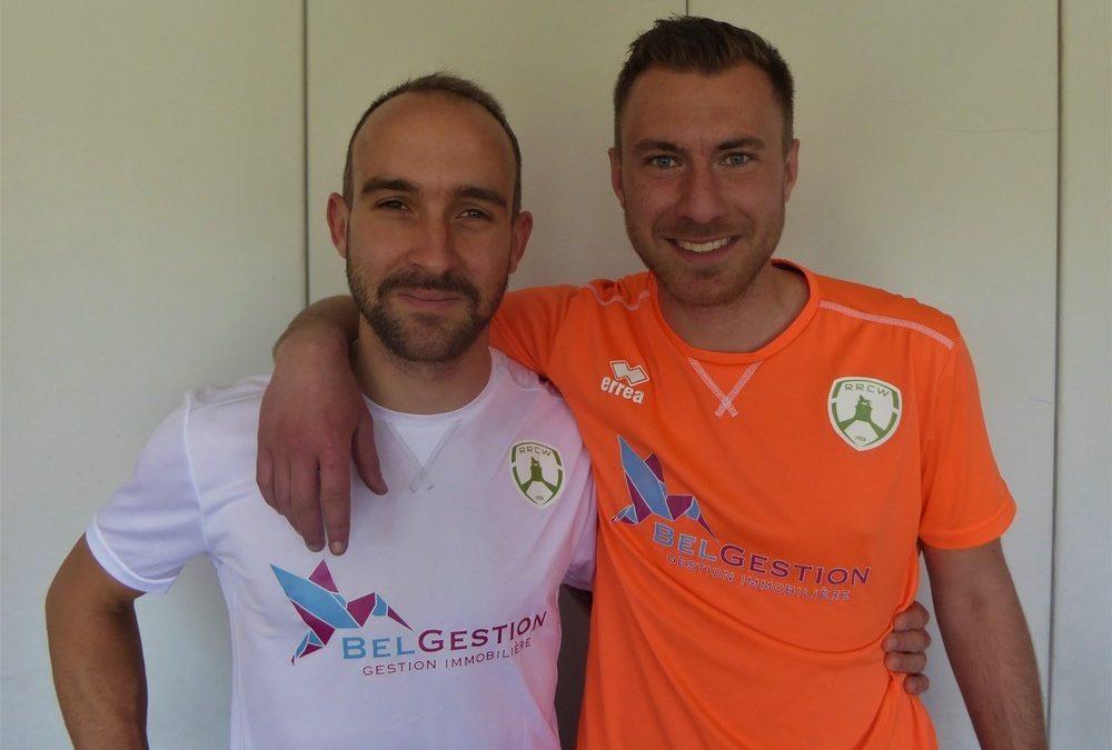 Jo Huby & Arnaud Van Wemmel rejoignent le RRCW !