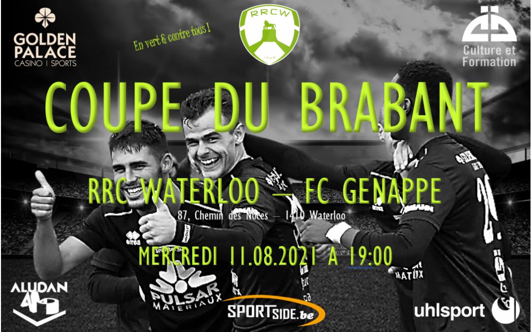 La redoutable équipe du FC Genappe sera notre adversaire en 16ème de finale de Coupe !